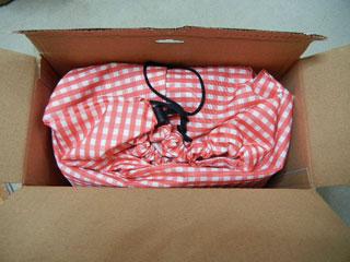 箱を開けました。
