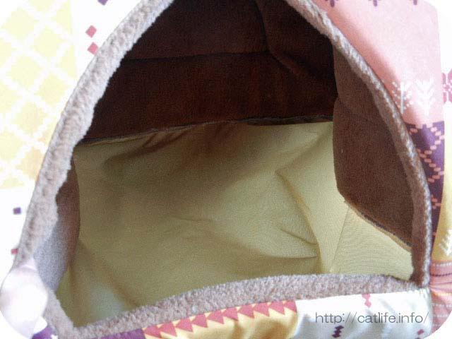 ドームベッドの底